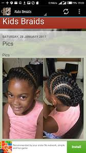 simple nigeria hair briad kids hairstyles and braids android apps on google play