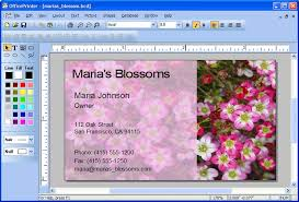 Business Card Creator Software Free Download Business Card Program Software
