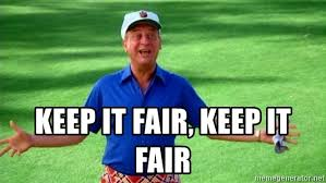 Caddyshack Meme - keep it fair keep it fair rodney dangerfield caddyshack meme