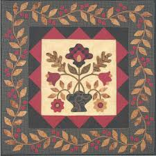 flowers for madeline applique quilt pattern
