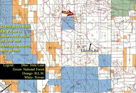 Colorado Gmu Map by Central Colorado Mountain Land And Homes On Acreage For Sale From