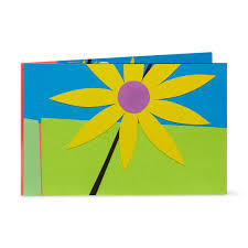 Color Up Playful Blossoms Pop Up Note Card Moma Design Store