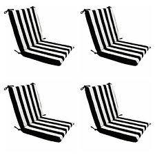 Patio Lounger Cushions Chair Striped Patio U0026 Garden Furniture Seat Pads Ebay