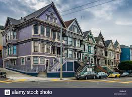 Victorian Houses by The Painted Ladies Victorian Houses Haight Ashbury District San
