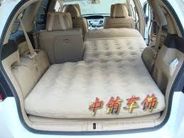 minivan air mattress right now i want to show you how this camper