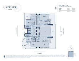 600 Square Feet Floor Plan by L U0027atelier L U0027atelier Miami Beach L U0027atelier Residences Miami