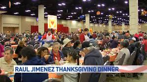 thousands attend annual raul jimenez thanksgiving dinner kabb