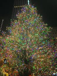 pictures of rockefeller center christmas tree christmas lights