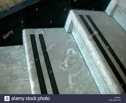 marble stairs with anti slip strips stock photo royalty free