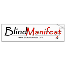 Legally Blind Driving Blind Bumper Stickers Car Stickers Zazzle