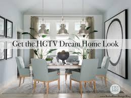 Hgtv Dining Rooms The Monthly Mirror Get The Hgtv Dream Home Dining Room Rachel Rossi