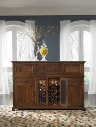 Buffet Glass Doors by Mackenzie Dow Brighton Buffet With Seeded Glass Doors And Wine