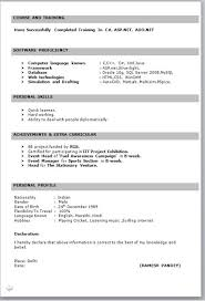 resume format download in ms word for fresher engineering simple resume format for freshers in ms word menu and resume