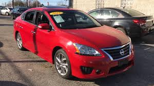 red nissan sentra used one owner 2015 nissan sentra sr chicago il western ave nissan