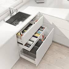 tiroir de cuisine tiroir sous évier blum aménagement de la cuisine 4905