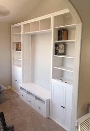 hemnes living room storage combo secretary add on units almost done