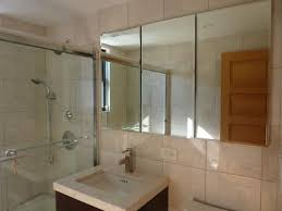 Beveled Mirror Bathroom by Pegasus 48 In W X 31 In H Frameless Recessed Or Surface Mount