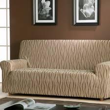 housse sur mesure canapé housse fauteuil et canapé extensible jacquard