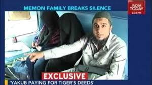 exclusive yakub memon s family breaks silence