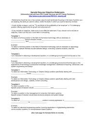 Pharmacy Technician Resume Objective Sample Examples For Resumes Bright Ideas Sample Objectives For Resumes