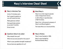 macy u0027s interview 9 must know questions and answers