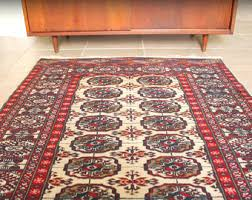 Bokhara Rugs For Sale Vintage Persian Rug Etsy