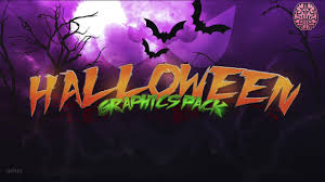 halloween graphics pack by qehzy spooky youtube