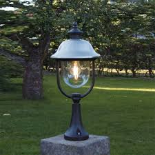 Outdoor Pillar Lights Pillar Outdoor Pole Lights Home Ideas Collection Installing