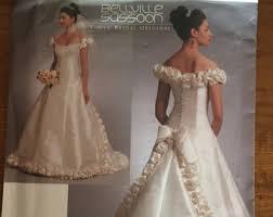 wedding dress pattern plus size etsy
