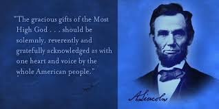 thanksgiving proclamation by abraham lincoln stannard s