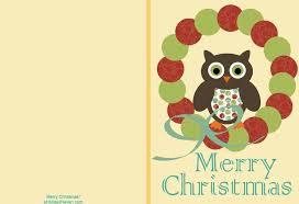 printable christmas card templates u2013 happy holidays