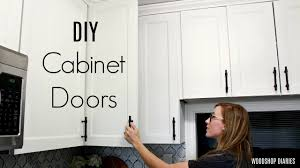 diy simple kitchen cabinet doors how to make diy cabinet doors