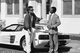 miami vice black miami vice 1986 up for auction could sell for 800 000