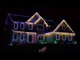 christmas light display to music near me epic christmas light display synced to music turn up the volume