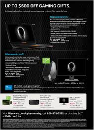 alienware black friday sales dell cyber monday 2015 sale revealed big discounts on laptops