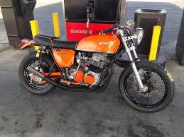 66 auto color honda u002772 750 custom cafe motorcycle eclipse