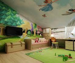 fresque chambre fille chambre fille sous comble chambre sous combles