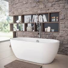 quito midi modern freestanding bath 1650mm
