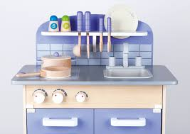 Wooden Kitchen by Usa Toyz Hape Wooden Kitchen Play Set Includes Purple Gourmet And 13 A