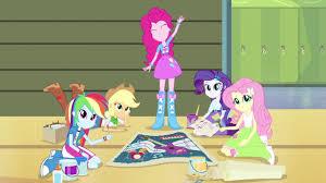 my little pony equestria girls clips de mlpeg rainbow rocks en mlp