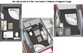 Model Salle De Bain Italienne by Une Salle De Bain De 7m Avec à L U0027italienne Et Baignoire D