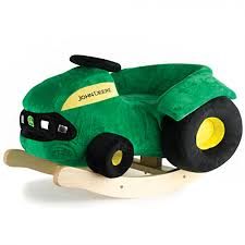 john deere plush rocking tractor gameroom for the home