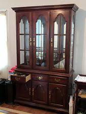 cherry wood china cabinet cherry china cabinets ebay