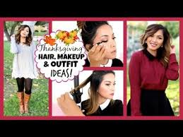 thanksgiving hair makeup ideas 2014