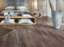 laminate flooring with wood effect chalked coffee oak by pergo