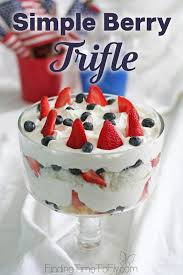 simple berry trifle finding time to fly