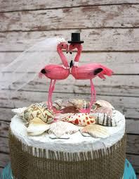 beach wedding cake topper tropical destination wedding cake topper