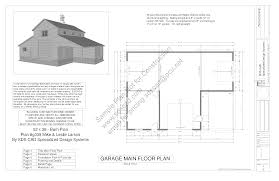 free sample barn plan download g339 52 u0027 x 38 u0027 barn plan