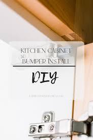 kitchen cupboard door stoppers kitchen cabinet bumper install espresso my kitchen