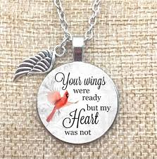 wings necklace pendant images Necklace pendant your wings were ready but my heart was not jpg